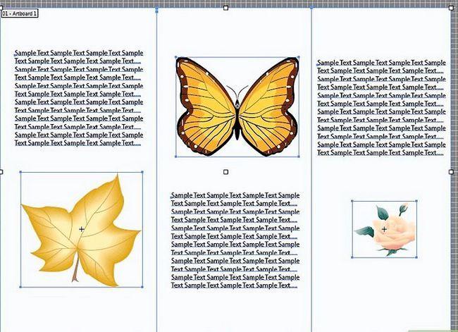 Prent getiteld Maak `n brosjure in Adobe Illustrator Stap 9