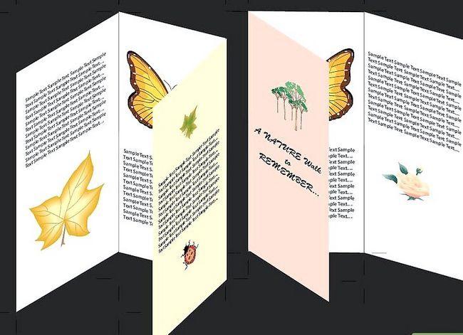Prent getiteld Maak `n brosjure in Adobe Illustrator Stap 10