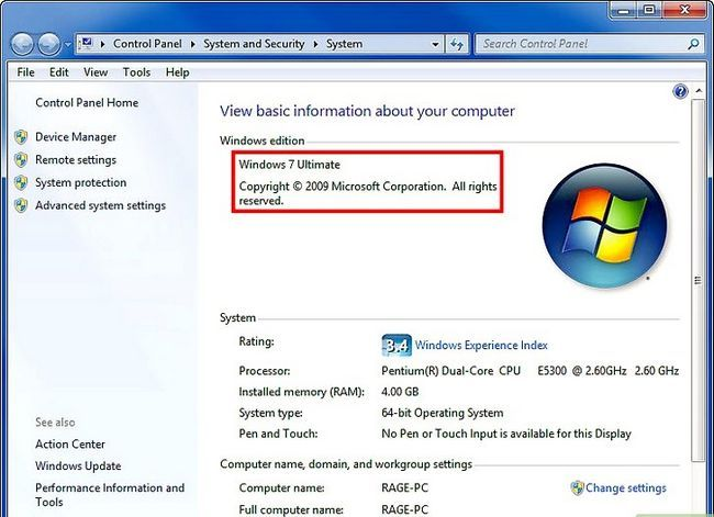 Prent getiteld Maak `n veranderende agtergrond op u rekenaar (Windows 7) Stap 1