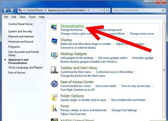 Prent getiteld Maak `n veranderende agtergrond op u rekenaar (Windows 7) Stap 2