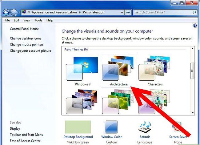 Prent getiteld Maak `n veranderende agtergrond op u rekenaar (Windows 7) Stap 4