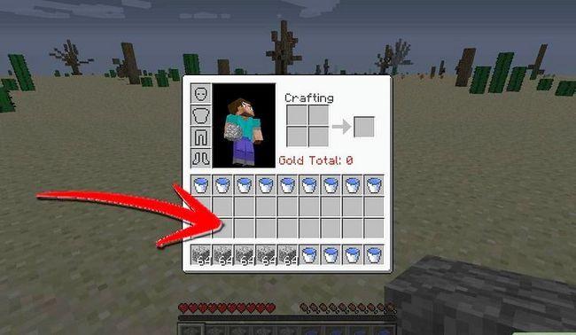 Prent getiteld Maak `n Mob Spawner in Minecraft Stap 1