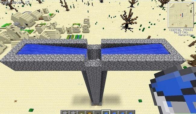 Prent getiteld Maak `n Mob Spawner in Minecraft Stap 11Bullet1