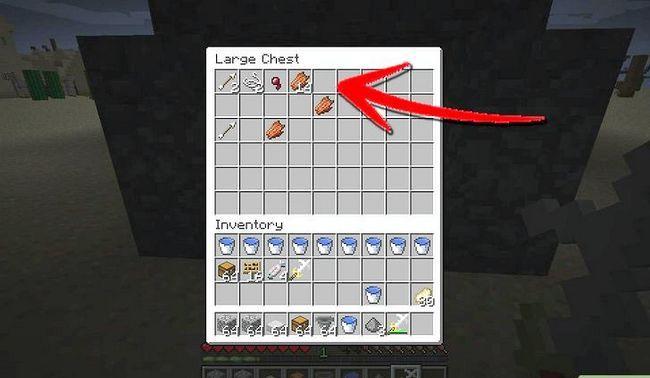 Prent getiteld Maak `n Mob Spawner in Minecraft Stap 17