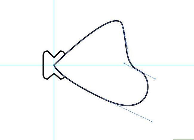 Prent getiteld Maak `n lint in Adobe Illustrator Stap 4