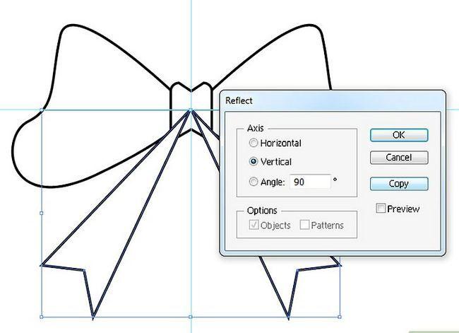 Prent getiteld Maak `n lint in Adobe Illustrator Stap 8