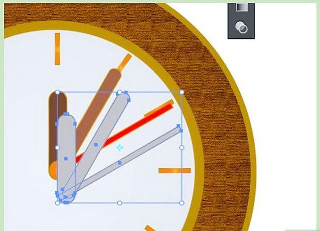 Prent getiteld Maak `n klok in Adobe Illustrator Stap 12