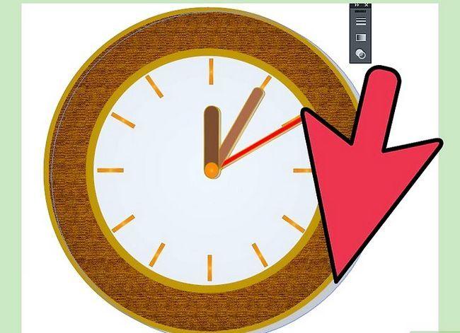Prent getiteld Maak `n klok in Adobe Illustrator Stap 13