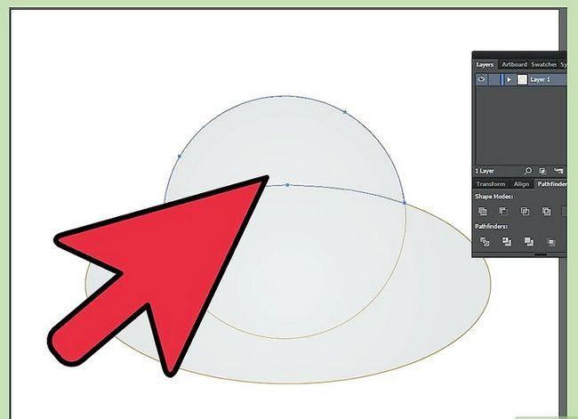 Prent getiteld Maak `n klok in Adobe Illustrator Stap 14