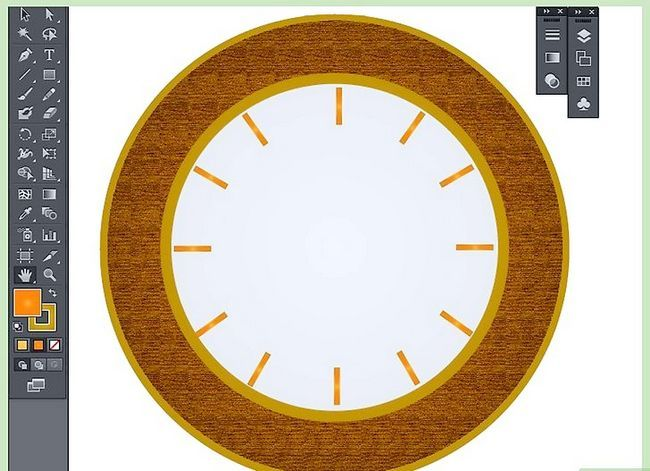 Prent getiteld Maak `n klok in Adobe Illustrator Stap 9