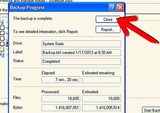Beeld getiteld Backup Windows XP Stap 8