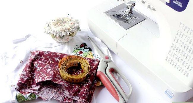 Prent getiteld Maak `n meisie`s Simple Dress Step 15