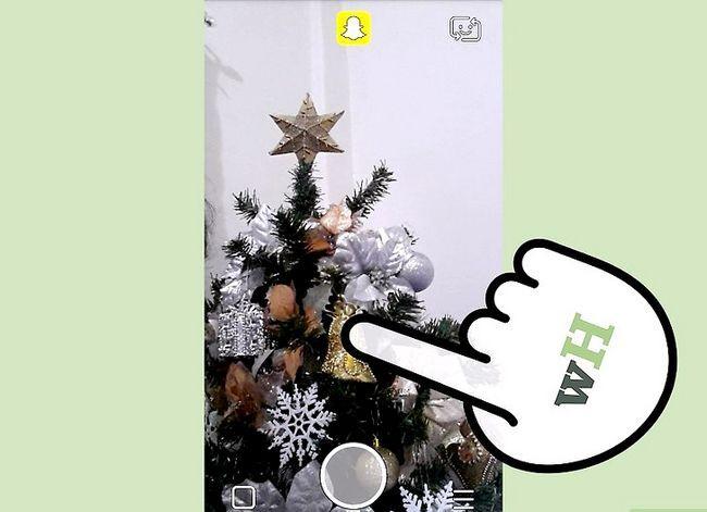 Prent getiteld Maak `n video in Snapchat Stap 5