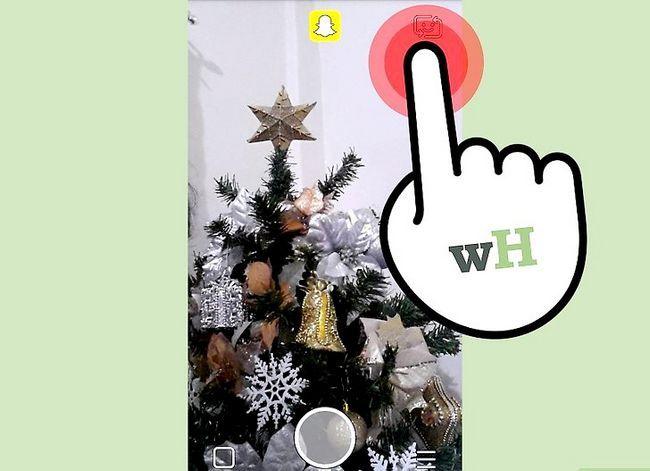 Prent getiteld Maak `n video in Snapchat Stap 6