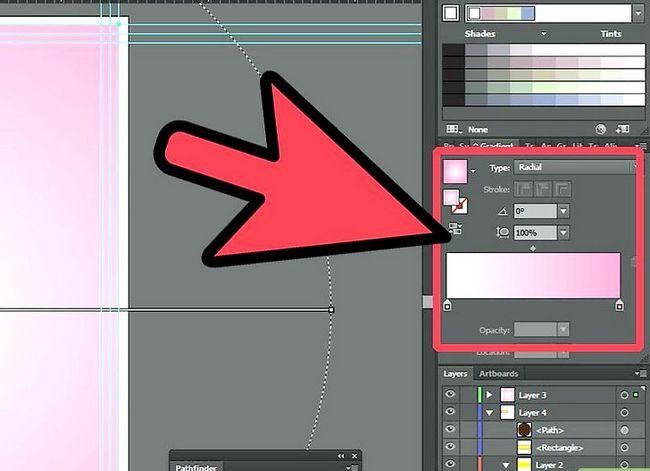 Prent getiteld Maak `n flyer in Adobe Illustrator Stap 5