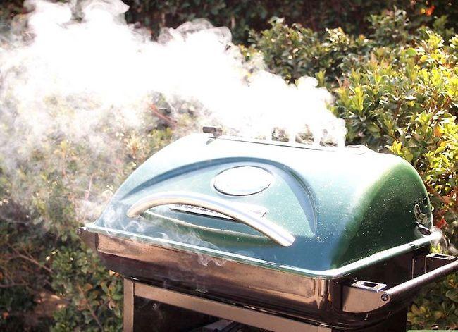 Prent getiteld Barbecue Stap 12
