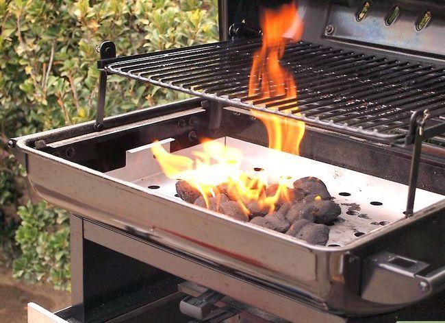 Prent getiteld Barbecue Stap 2
