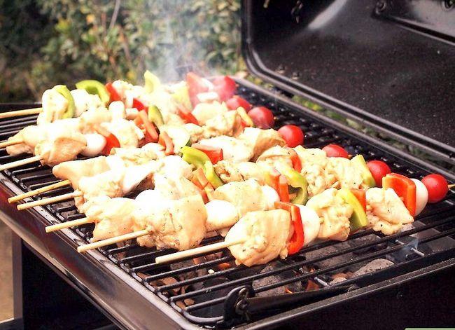 Prent getiteld Barbecue Stap 5