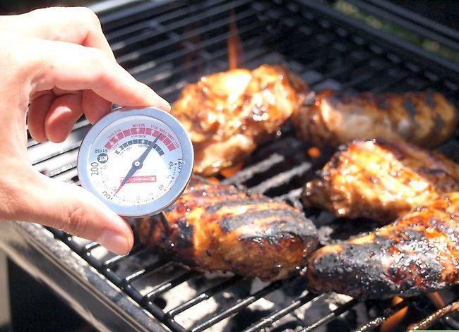 Prent getiteld Barbecue Stap 7