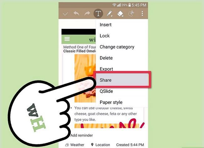 Prent getiteld Neem `n skerm op `n 4G LG Android Phone Stap 12