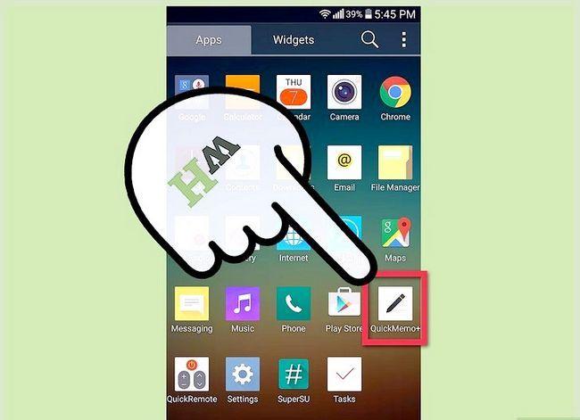 Prent getiteld Neem `n skerm prent op `n 4G LG Android Phone Stap 13