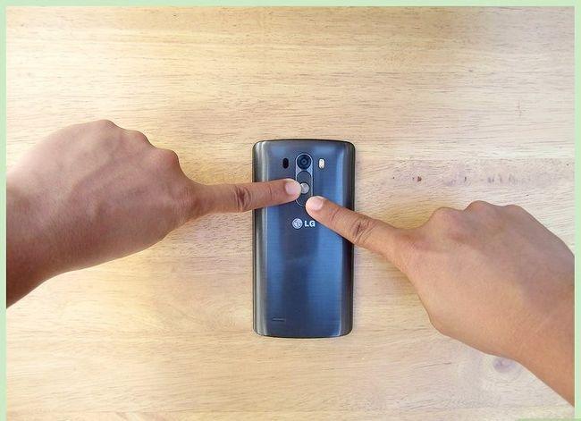 Prent getiteld Neem `n skerm op `n 4G LG Android Phone Stap 2