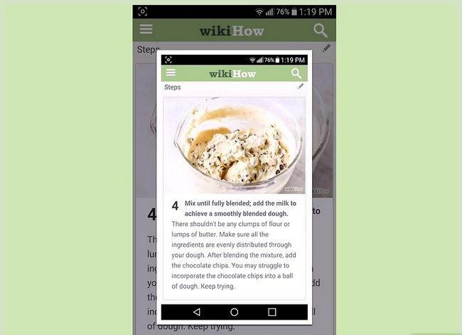 Beeld getiteld Neem `n skermkopie op `n 4G LG Android Phone Stap 3