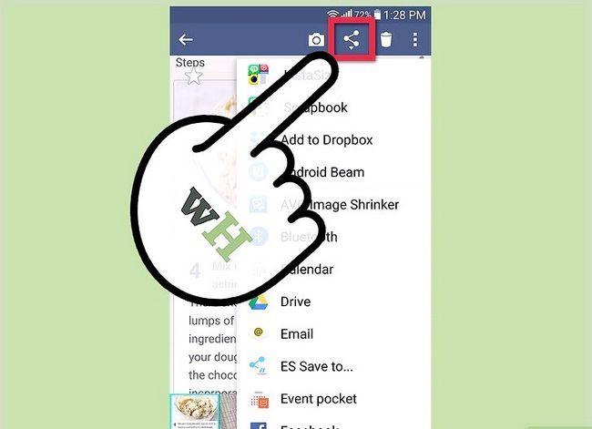 Prent getiteld Neem `n skerm prent op `n 4G LG Android Phone Stap 5