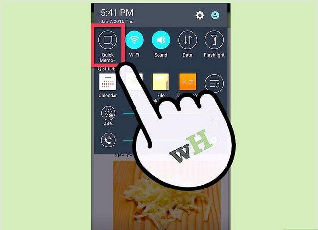 Prent getiteld Neem `n skerm prent op `n 4G LG Android Phone Stap 8