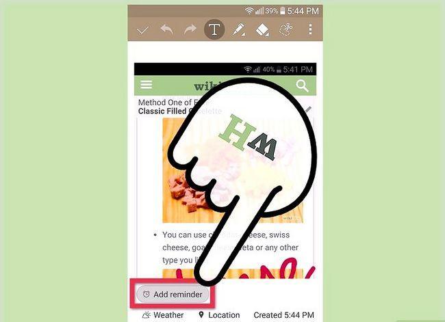 Prent getiteld Neem `n skerm prent op `n 4G LG Android Phone Stap 10