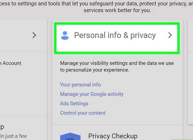 Beeld getiteld Rugsteun jou Gmail-rekening Stap 2
