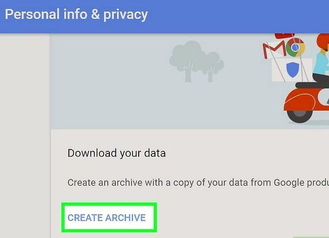 Beeld getiteld Rugsteun jou Gmail-rekening Stap 4