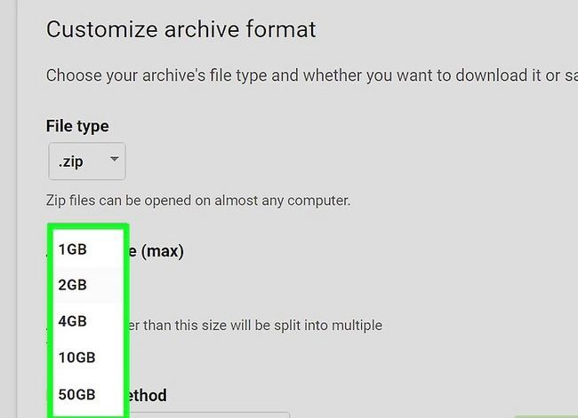 Beeld getiteld Rugsteun jou Gmail-rekening Stap 8