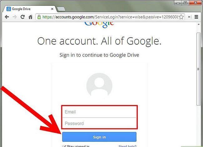 Prent getiteld Backup Google Docs Stap 1