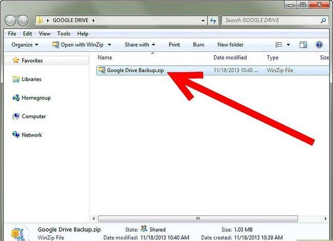Prent getiteld Backup Google Docs Stap 10