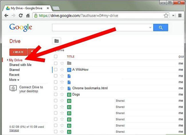 Prent getiteld Backup Google Docs Stap 2