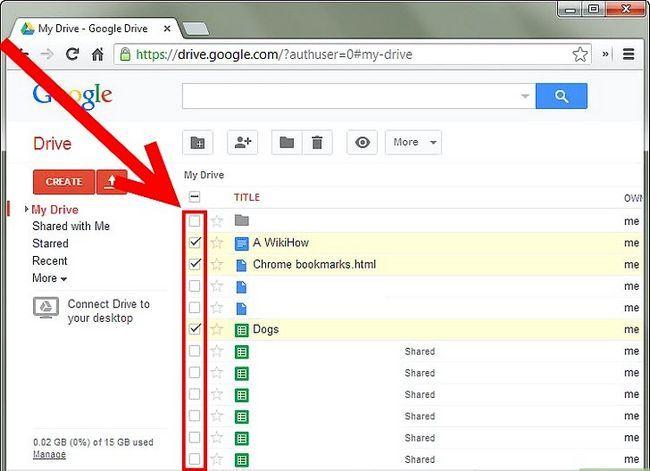Prent getiteld Backup Google Docs Stap 3Bullet1