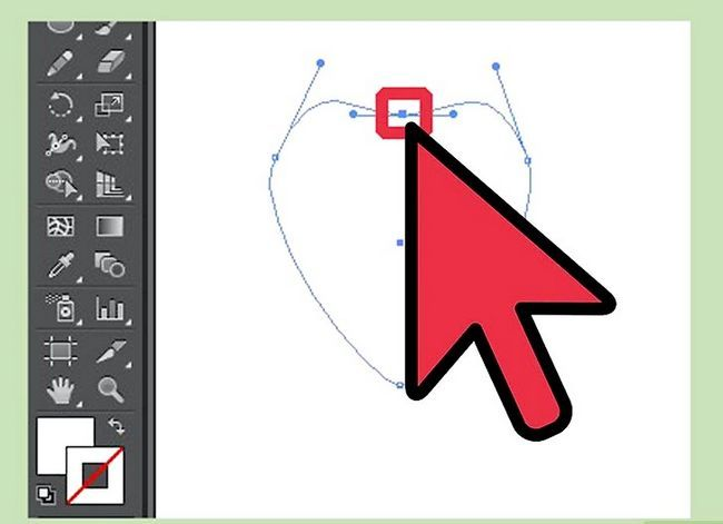 Prent getiteld Maak `n blom in Adobe Illustrator Stap 2