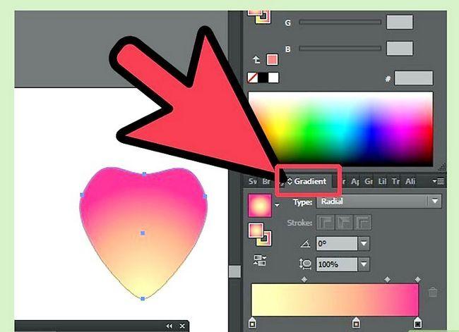 Prent getiteld Maak `n blom in Adobe Illustrator Stap 4