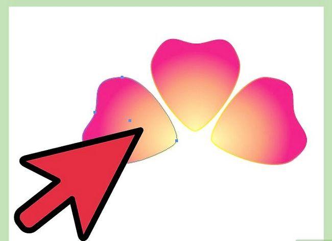 Prent getiteld Maak `n blom in Adobe Illustrator Stap 6