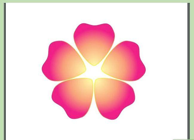 Prent getiteld Maak `n blom in Adobe Illustrator Stap 7