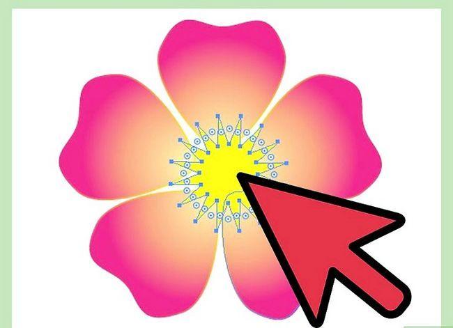 Prent getiteld Maak `n blom in Adobe Illustrator Stap 8