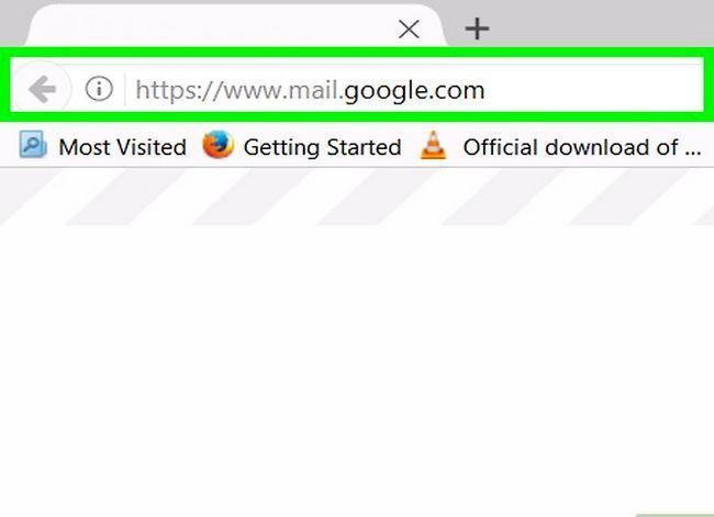 Prent getiteld Maak `n poslys in Gmail Stap 1