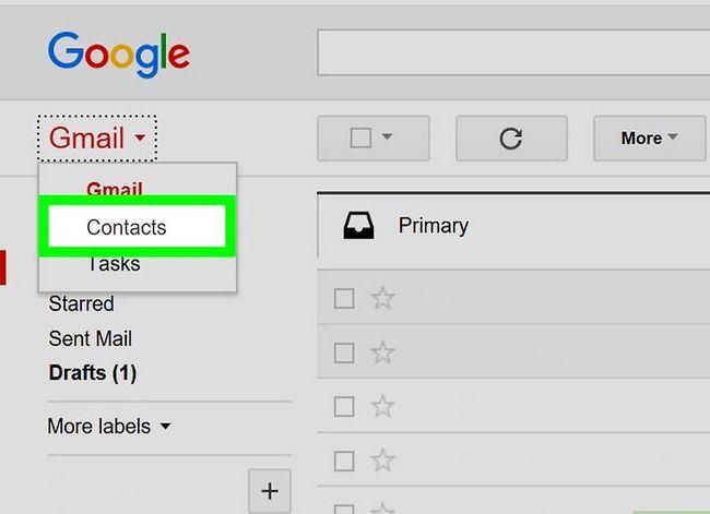 Prent getiteld Maak `n poslys in Gmail Stap 3