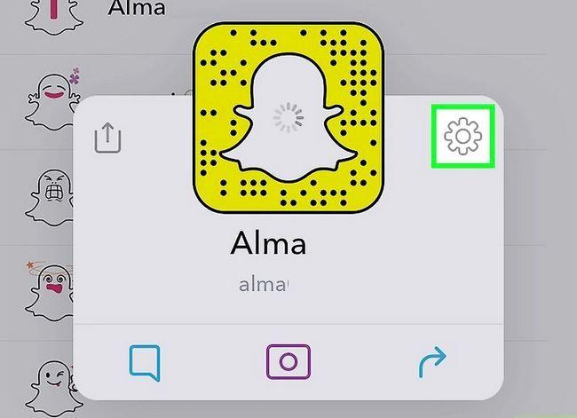 Prent getiteld Maak `n lys op Snapchat Stap 12