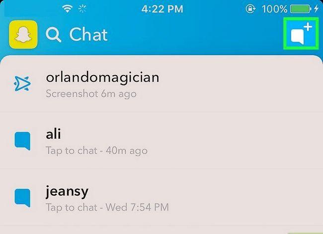 Prent getiteld Maak `n lys op Snapchat Stap 4