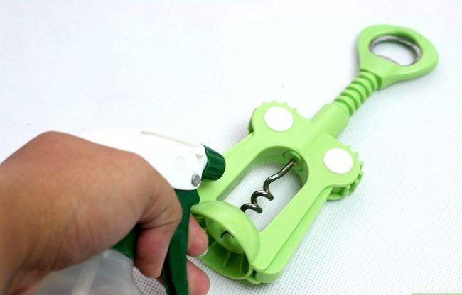 Prent getiteld Maak `n mengsel om Plastic Stap 12 skoon te maak