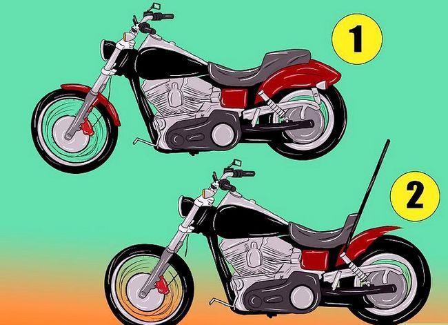 Prent getiteld Bou `n Chopper Motorfiets Stap 1Bullet4
