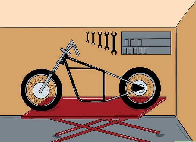 Prent getiteld Bou `n Chopper Motorfiets Stap 5Bullet1