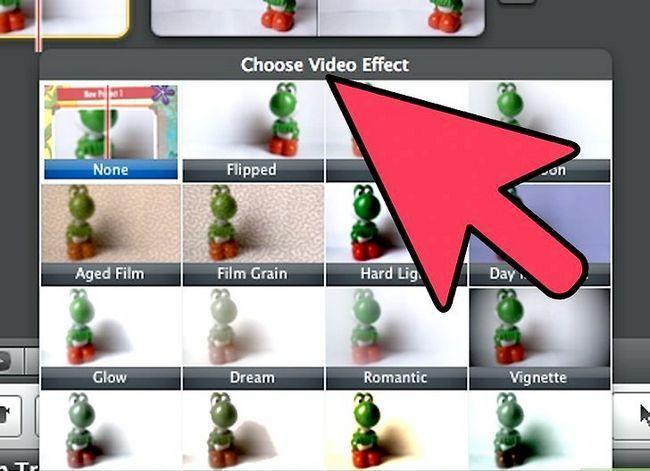 Prent getiteld Maak `n groen skerm op `n Mac met iMovie Stap 15